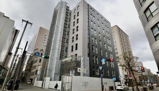 関電不動産高麗橋ビル  (仮称)高麗橋3丁目プロジェクト新築工事の状況 20.12【2021年2月竣工】