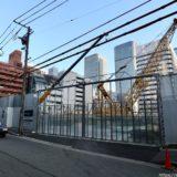 堂島二丁目特定街区、旧・電通大阪ビルの解体工事の状況 21.01【2024年09月竣工予定】