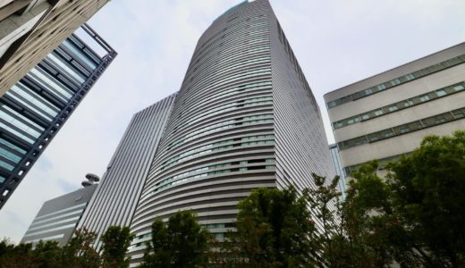 京阪神OBPビル新築工事の状況 20.10【2021年4月竣工予定】