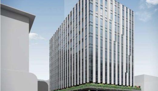 難波中二丁目開発計画「B敷地」計画の状況 20.11【2023年1月竣工】