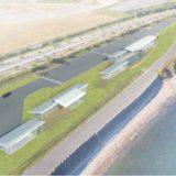 明石海峡公園淡路地区海岸ゾーン「シースケープ・ラウンジ」が国営公園で初めてPark-PFI事業の計画認定!