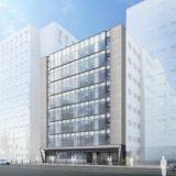 (仮称)新大阪オフィスⅡ計画 JR西日本不動産開発のオフィスビルの状況 21.03【2022年2月竣工予定】