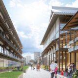 元新道小学校跡地活用計画 京都の宮川町歌舞練場が約100年ぶり建て替えへ!京都市、新道自治連合会とNTT都市開発が覚書を締結!