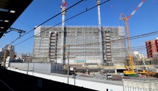 星野リゾート OMO7 大阪新今宮 建設工事の状況 20.12【2022年4月開業予定】