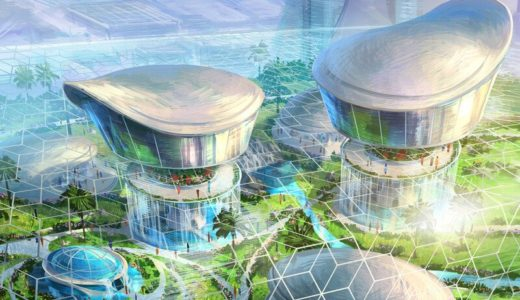 SPセティアの大阪りんくうタウン総合開発(OSAKA INTEGRATED DEVELOPMENT FOR SP SETIA)のコンセプトイメージ