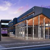 嵐電北野白梅町駅の新駅舎は 2021 年3月に供用開始!新駅舎のデザインは嵐山駅を手掛けたGLAMOROUSが担当