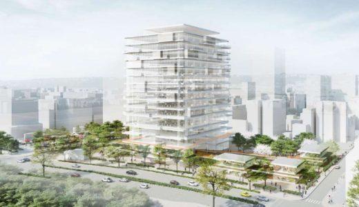 仙台市役所本庁舎建替え設計プロポーザルで、石本建築事務所・千葉学建築計画事務所JVが受注候補者に決定!