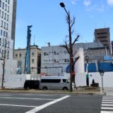 (仮称)三津寺ホテルプロジェクトの状況 21.02【2021年9月竣工予定】
