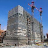 星野リゾート OMO7 大阪新今宮 建設工事の状況 21.01【2022年4月開業予定】