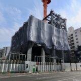 大阪厚生信用金庫新本店ビル 建設工事の状況 21.01【2021年9月竣工】