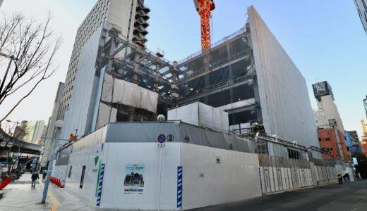 新曽根崎ビル(仮称)新築工事ーNTT西日本曽根崎ビル跡に建設されるデータセンターの状況 21.02