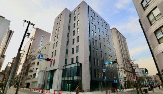 関電不動産高麗橋ビル  (仮称)高麗橋3丁目プロジェクト新築工事の状況 21.02【2021年2月竣工】