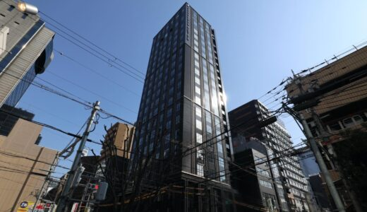 大阪グランベルホテルの建設状況 21.02【2021年4月23日開業】