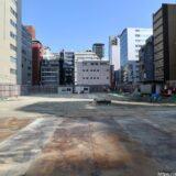 (仮称)大阪市中央区南本町2丁目集合住宅新築工事の状況 21.02【2023年3月竣工】