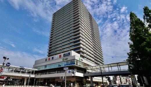 プラウドタワー堺東(ジョルノビル建替え計画)建設工事の状況 21.06 【竣工済】