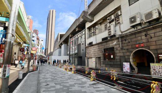 神戸市・サンキタ通り再整備の状況 21.01