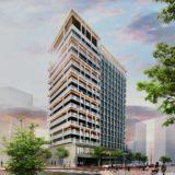 (仮称)神戸市中央区三宮町プロジェクト ダイワロイヤルのホテル計画の状況 21.01【2021年1月竣工予定】