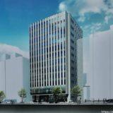 関電不動産開発(仮称)三宮町一丁目オフィス の建設状況 21.01【2022年02月末竣工】