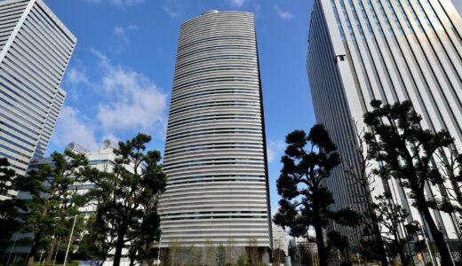 京阪神OBPビル新築工事の状況 21.03【2021年4月竣工予定】