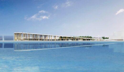 大分空港海上アクセス旅客ターミナル設計プロポで藤本壮介・松井設計JVを最優秀者に選定!空へ上昇していく外観は宇宙港大分を象徴