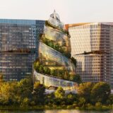 アマゾンの第2本社「ヘリックス」タワーは二重螺旋に触発された近未来的デザインの超高層ビル!