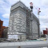 星野リゾート OMO7 大阪新今宮 建設工事の状況 21.04【2022年4月開業予定】