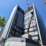 新曽根崎ビル(仮称)新築工事ーNTT西日本曽根崎ビル跡に建設されるデータセンターの状況 21.04