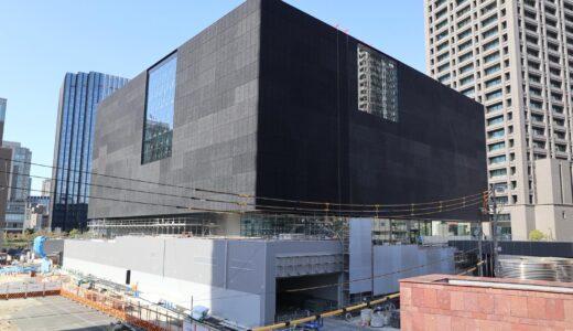 大阪中之島美術館・Nakanoshima Museum of Art, Osakaの建設状況 21.04【2021年度開館予定】