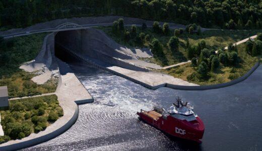「スタッド・シップ・トンネル」ノルウェーが世界初となる『船舶用トンネル』の建設にゴーサイン!