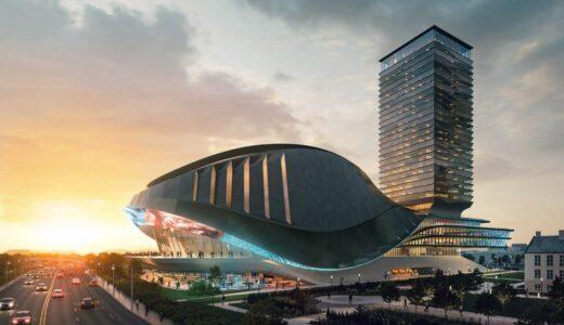 カナダのトロントに亀の甲羅の様なデザインのeスポーツスタジアムが誕生!