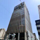 大阪厚生信用金庫新本店ビル 建設工事の状況 21.05【2021年9月竣工】