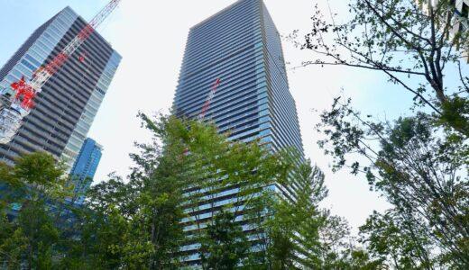 グランドメゾン新梅田タワー THE CLUB RESIDENCEの建設状況 21.09