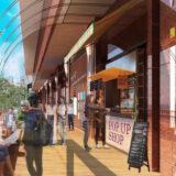天王寺ミオに新エリア「ミオガーデンテラス」が誕生!ミオ館内でテイクアウトした商品をすぐに楽しめる開放的なオープンテラス