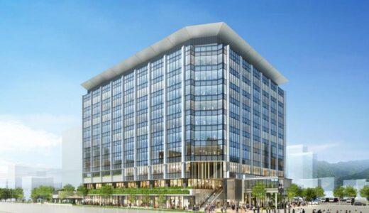 JR九州が鹿児島中央駅西口に10階建て複合ビルを建設!【2023年春開業予定】