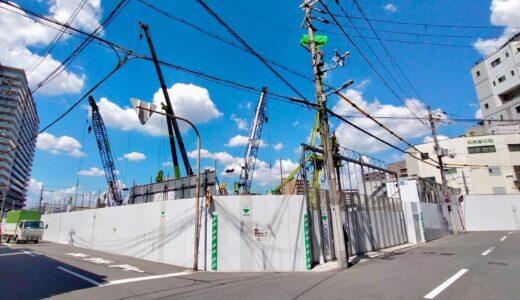 (仮称)SUMA新築工事 旧トーハン大阪支店跡のデータセンターの状況21.08