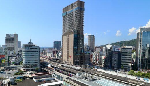 竣工した、神戸阪急ビル東館 建設工事の状況 21.09