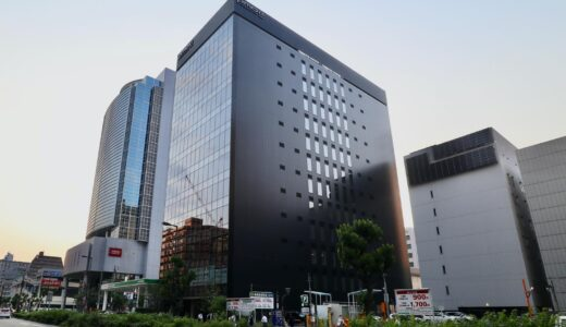 PMO EX新大阪ー野村不動産(仮称)新大阪PJの建設状況 21.06【2021年6月竣工予定】