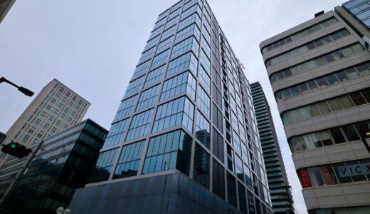 本町サンケイビルの建設状況 21.06【2021年8月竣工】