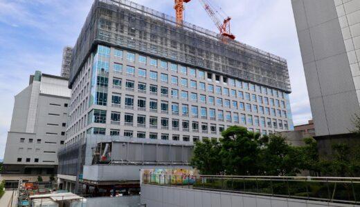 大阪第6地方合同庁舎(仮称)整備等事業の状況 21.06【2022年03月竣工】