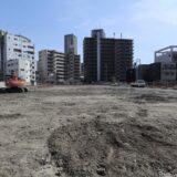 (仮称)SUMA新築工事 旧トーハン大阪支店跡のデータセンターの状況21.04
