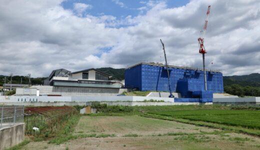 なら歴史芸術文化村 フェアフィールド・バイ・マリオット 建設工事の状況 21.08【2022年春開村】