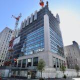 日本生命淀屋橋ビル新築工事の状況 21.04【2022年10月竣工】