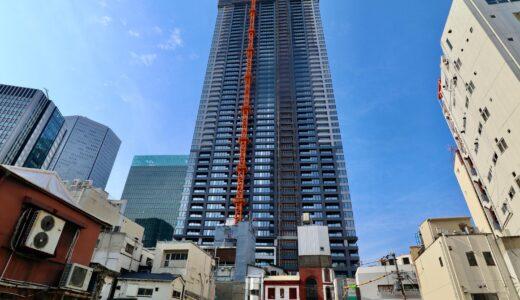 ラ・トゥール大阪梅田ガーデン(仮称)大阪梅田計画の建設状況 21.05【2022年3月竣工】