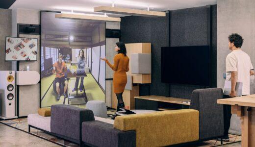 話し相手と目が合う!?低遅延・等身大のビデオ会議システム「tonari」は『同じ空間を共有』する体験を実現!