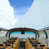富山・立山黒部アルペーンルート「雪の大谷」を2階建てスカイバス富山のオープントップバスで愛でる【5月21日~30日運行】