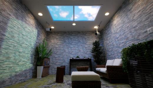 パナソニックが天窓を人工的に再現する「天窓Vision」を発表!バイオフィリックデザインを目指す新たな空間演出を提案