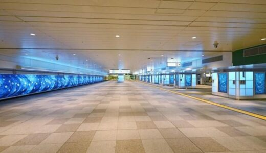 新宿ウォール456が放映開始!国内最大級の長さ45.6m、高さ1.7mの超横長LEDビジョン(梅田メトロビジョンの半分の大きさ)