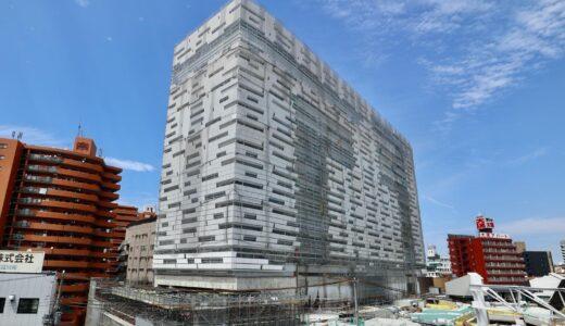 星野リゾート OMO7 大阪新今宮 建設工事の状況 21.06【2022年4月開業予定】