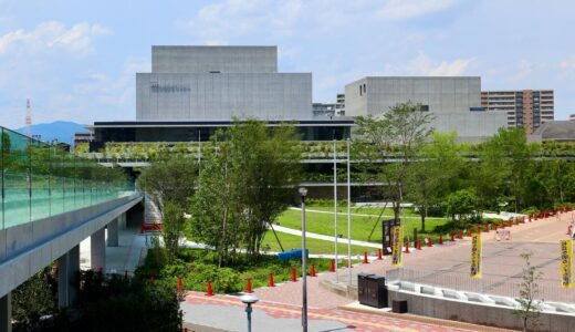 枚方市総合文化芸術センター本館 建設工事の状況 21.07【2021年9月オープン予定】