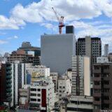 新曽根崎ビル(仮称)新築工事ーNTT西日本曽根崎ビル跡に建設されるデータセンターの状況 21.05